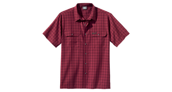 Jack Wolfskin Tumbleweed Men red shadow checks